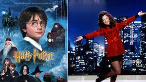"""Harry Potter""-Plakat und ""Die Nanny""-Promobild"
