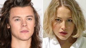 Harry Styles und Tess Ward