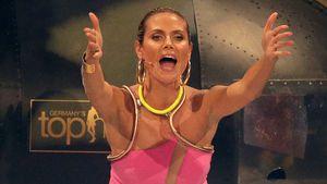 Heidi Klum beim Finale der achten GNTM-Staffel