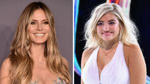 Live im TV: Heidi Klum wünscht Sarina Glück auf dem Eis!