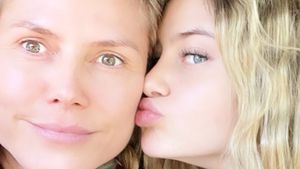Neue Fotos: So süß gratuliert Leni Mama Heidi zum Muttertag