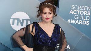 Total verliebt: Helena Bonham Carter mit Partner unterwegs