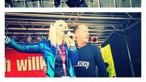 Helena Fürst und Willi Herren zusammen auf der Bühne