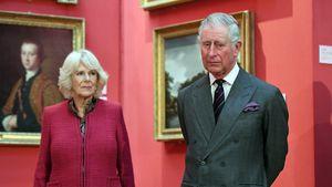 Herzogin Camilla und Prinz Charles beim Besuch des Fitzwilliam Museum der Uni Cambridge 2016