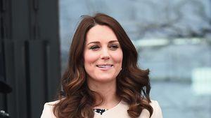 Schwangere Kate: Hier bricht sie ihre eigene Fashion-Regel!