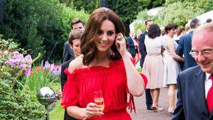 Schwangere Herzogin Kate: Hier trank sie noch Alkohol!