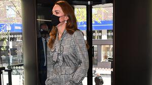 Günstig und elegant: Herzogin Kate trägt Schnäppchen-Kleid