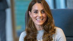 Im Blazer: So elegant sieht Herzogin Kate bei Event aus!