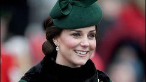 Wow! Schwangere Kate strahlt zum St. Patrick's Day in Grün