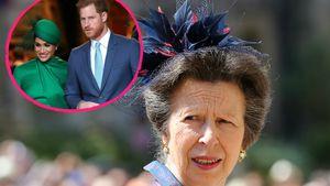 Teilt Prinzessin Anne hier gegen Prinz Harry und Meghan aus?