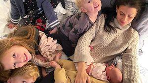 Rätsel gelöst? Hilaria Baldwins Baby kam durch Leihmutter