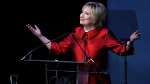 Hillary Clinton bei der Verleihung der Vital Voices Global Leadership Awards in Washington