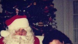 Rätselauflösung: Dieser Star ist der Santa-Schreck