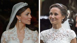 Hochzeitsvergleich bei Pippa und Kate