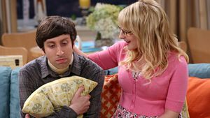 "Howard Wolowitz und Bernadette aus ""The Big Bang Theory"""