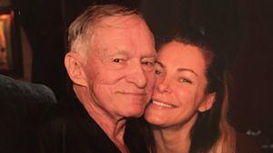 Hugh Hefner und seine Frau Crystal