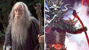"""Der """"Masked Singer""""-Drache hatte ein echtes Gandalf-Requisit"""