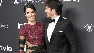 Nikki Reed und Ian Somerhalder bei der Post-Golden-Globe-Party von Warner Bros.