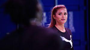 Elegant in Cannes: Pamela Reif kann auch unsportlich!