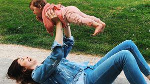 Stolze Mama Ira Meindl: So groß ist ihr Baby Emilia schon!