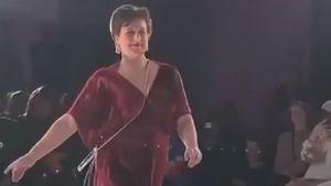 TV-Bäuerin Iris noch immer beflügelt von Laufsteg-Debüt