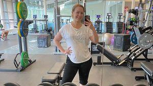 Nach Entbindung: Isabel Edvardsson findet Babypfunde normal