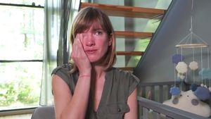 Isabell Horn weint