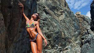 Endlos lange Beine: Izabel Goulart haut Fans mit Megabody um