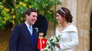 Mit seiner Rede brachte Jack seine Braut Eugenie zum Weinen!