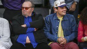 Hallo, Bäuchlein: Jack Nicholson gewährt tiefe Einblicke