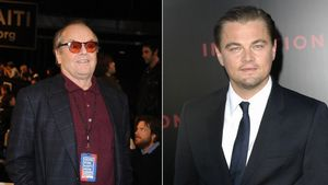 Leonardo DiCaprio und Jack Nicholson