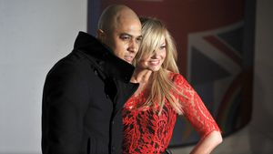 Jade Jones und Emma Bunton 2012 bei den BRIT Awards