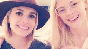 Endlich! Emma Roberts posiert mit Jaime Kings Sohn
