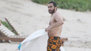 Jake Gyllenhaal am Strand von St. Barths