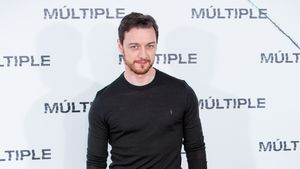 "James McAvoy bei der ""Split""-Premiere in Madrid"