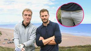 Riesen-Beule: Zeigt Jamie Dornan hier sein bestes Stück?!