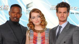 Spiderman-Premiere: Emma Stone & Andrew in Berlin