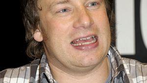 Pfundig: Jamie Oliver trägt jetzt Doppelkinn