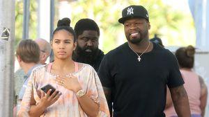50 Cent beim Spaziergang mit Jamira Haines erwischt