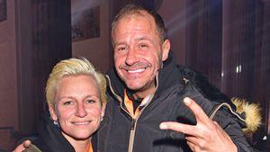 Jana Windolph und Willi Herren auf der Silvester-Party 2016