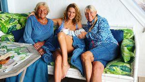 Janni Hönscheid: Sie zeigt vier Generationen in einem Pic!