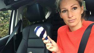 Auto-Chaos mit Baby: Neu-Mami Janni Hönscheid verzweifelt!