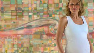 Kugel-Update: Schwangere Janni kriegt Hose nicht mehr zu