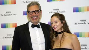 Jeff Goldblum und seine Frau Emilie Livingston