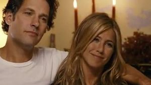 Jennifer Aniston und Paul Rudd