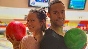 Familien-Bowling: Andrej und Jenny starten in die Feiertage