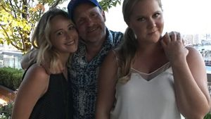 Jennifer Lawrence, Woody Harrelson und Amy Schumer