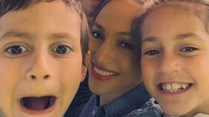 Marc Anthony, Maximilian David Muñiz und Emme Maribel Muñiz