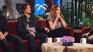 Jennifer Lopez, Ellen DeGeneres und Harry Connick Jr.