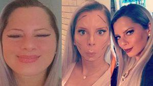 Jenny Frankhauser und ihre Make-up-Routine